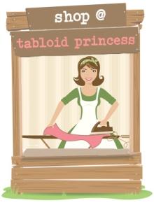 Go to the Tabloid Princess shop @ Etsy
